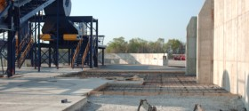 Industrial Concrete Slab Work